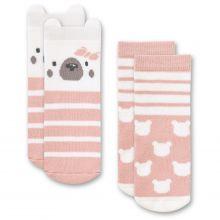 """Набор из 2 пар махровых носков """"Медвежонок Макс"""" HappyBabyDays"""