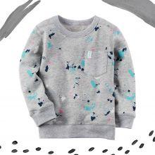 Пуловер френч терри Carters