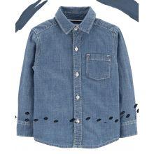 Рубашка Carters из хлопка шамбре