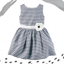 Нарядное платье Carters в полосочку