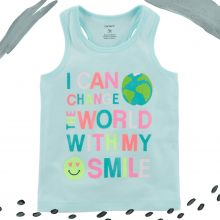 """Майка Carters """"Я могу изменить мир своей улыбкой"""""""