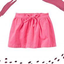 Вельветовая юбка Carters розовая