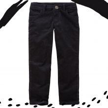 Вельветовые штаны Carters черные