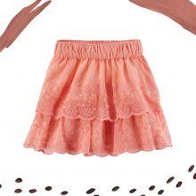 Кружевная юбка Carters розовая