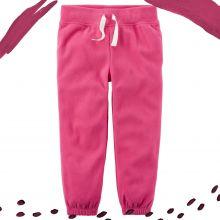 Штаны флисовые Carters розовые