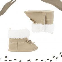 Ботиночки тёплые для новорожденной Carters